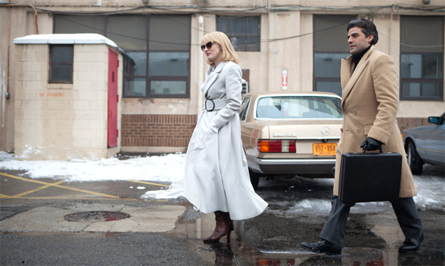 'A Most Violnet Year' stars Jessica Chastain and Oscar Isaac.