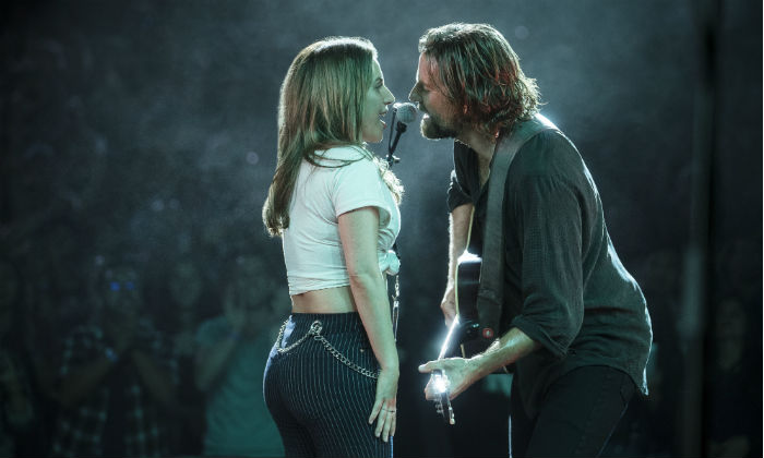 Bradley Cooper and Lady Gaga play Jackson Maine and Ally