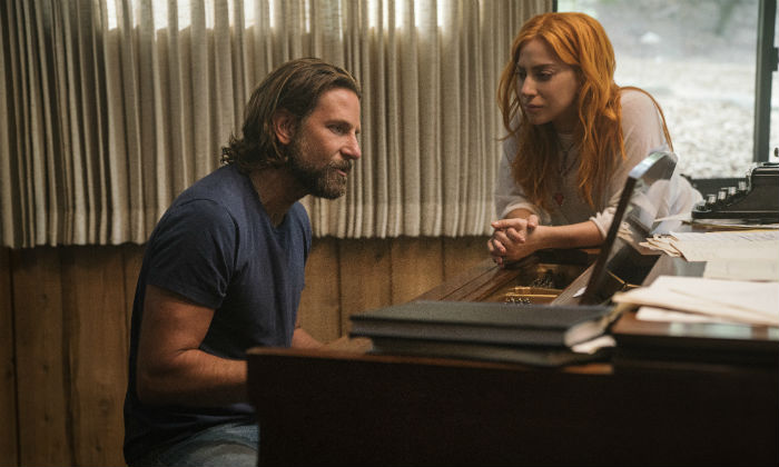 Bradley Cooper and Lady Gaga star in 'A Star Is Born'