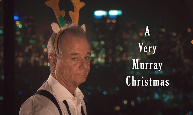 Bill Murray wishes you 'A Very Murray Christmas'...