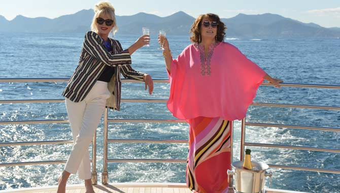 Real-life Eddie And Patsy Ejected From 'Absolutely Fabulous: The Movie' Screening For Laughing Too Loud