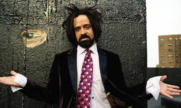 Adam Duritz from Counting Crows promo