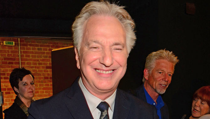 9 Funny Moments Delivered By Alan Rickman