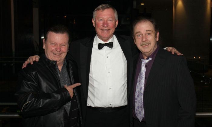 The Fureys with Alex Ferguson