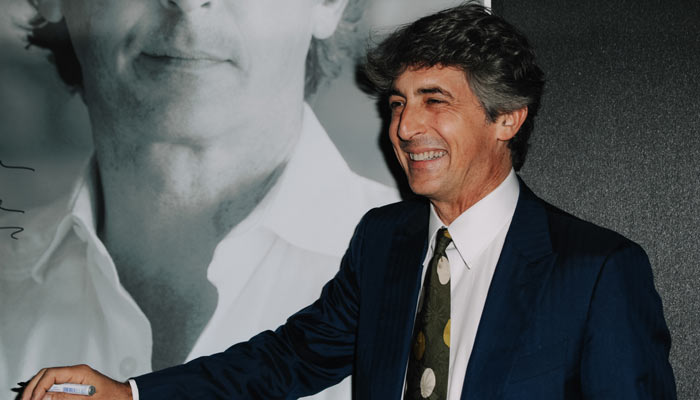 Alexander Payne on the red carpet