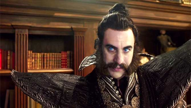 Sacha Baron Cohen in Alice Through The Looking Glass