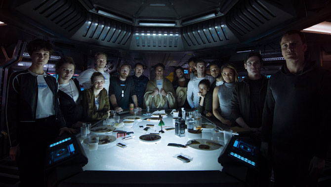The full cast of 'Alien: Covenant'