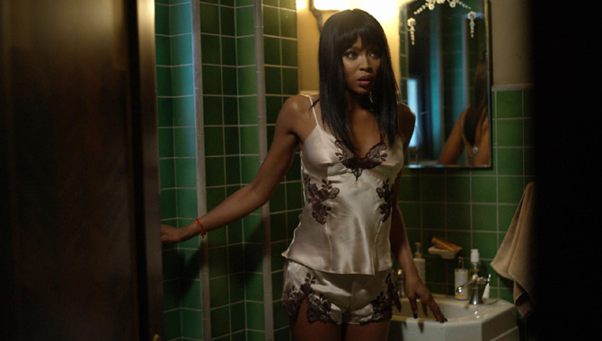 Naomi Campbell in 'American Horror Story: Hotel'