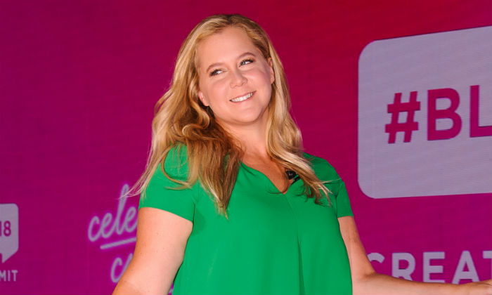 Amy Schumer at the 2018 #Blogher Creators Summit