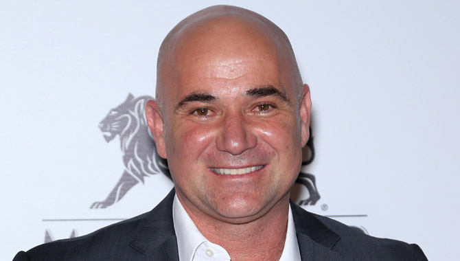 Andre Agassi at the Keep Memory Alive Power of Love Gala
