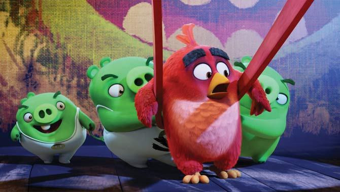 The Angry Birds - Red and the Pigs