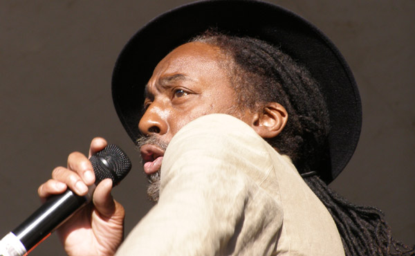 Angus Gaye of Aswad Playing Lounge On The Farm 2013