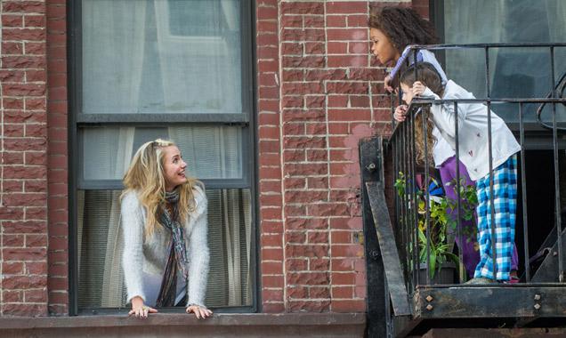 Quvenzhane Wallis and Cameron Diaz in 'Annie'