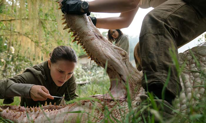 Natalie Portman in 'Annihilation'