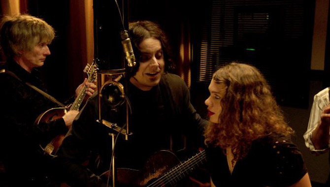 Jack White records 'Matrimonial Intentions' on 'The American Epic Sessions'