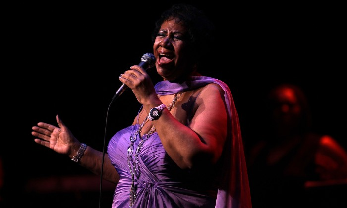 Aretha Franklin performing in Chicago in 2018 / Photo Credit: Chicago Tribune/TNS/ABACA/PA Images