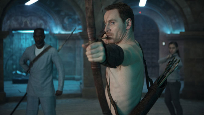 Michael Fassebender in Assassin's Creed