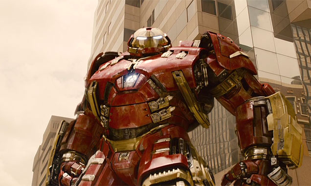 The Hulkbuster Armor from 'Avengers: Age of Ultron'