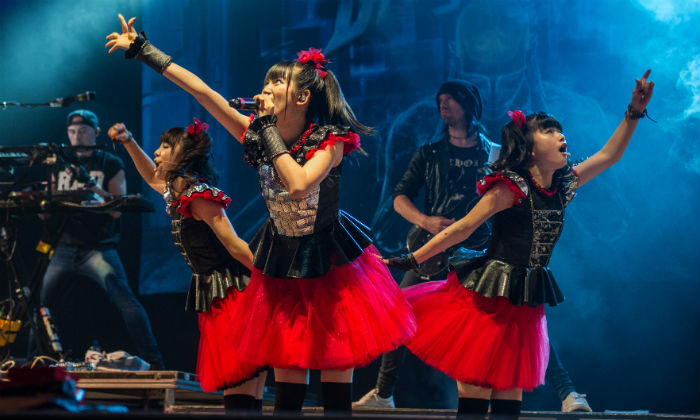 Babymetal at Download Festival 2015 / Photo Credit: Katja Ogrin/PA Archive/PA Images