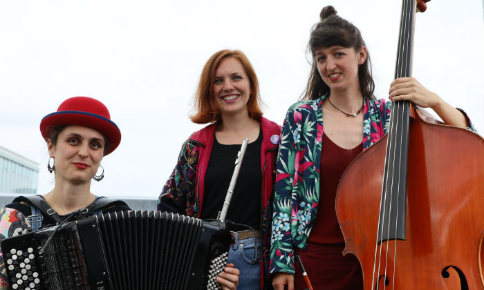 How Balladin use Balkan folk influences to deliver messages of empowerment