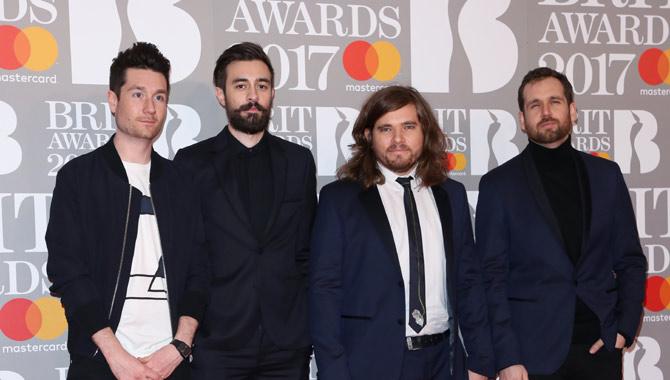 Bastille at the 2017 Brit Awards