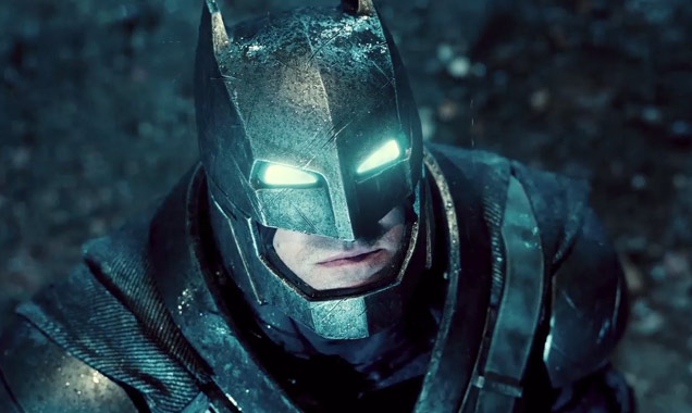 Ben Affleck as Batman in 'Batman v Superman'