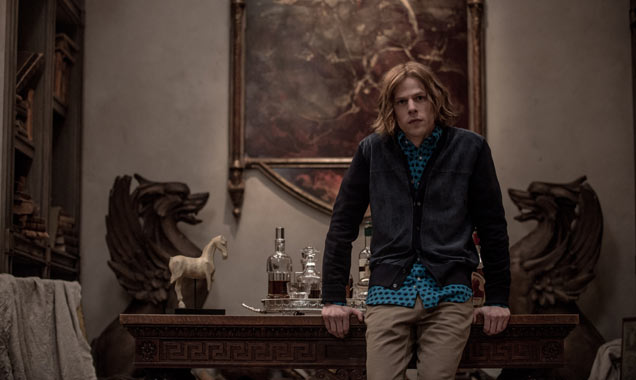 Jesse Eisenberg stars as Lex Luther