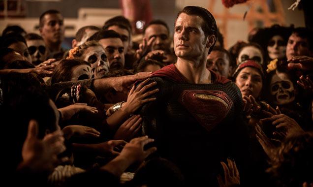 Henry Cavill in 'Batman v Superman: Dawn Of Justice'