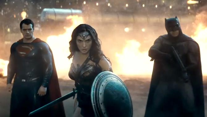 Batman V Superman visits a darker side to both characters