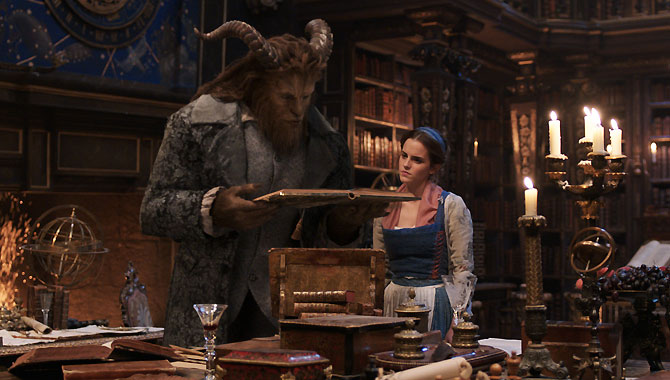 First Real Look At Emma Watson In Action With 'Beauty And The Beast' Trailer