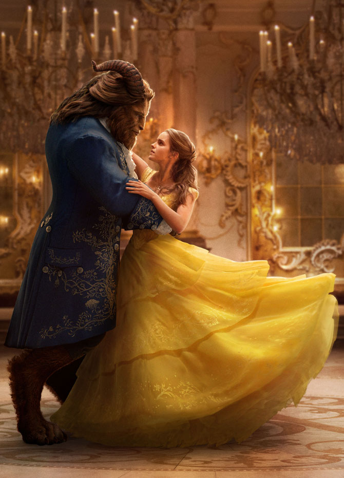 Dan Stevens and Emma Watson took on the lead roles in 'Beauty and the Beast'