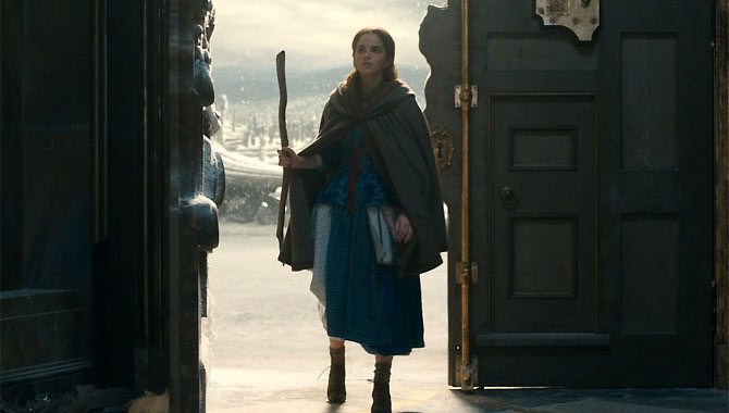 Emma Watson stars as Belle in 'Beauty and the Beast'