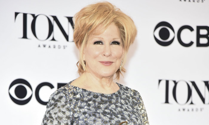 Bette Midler at the 2017 Tony Awards