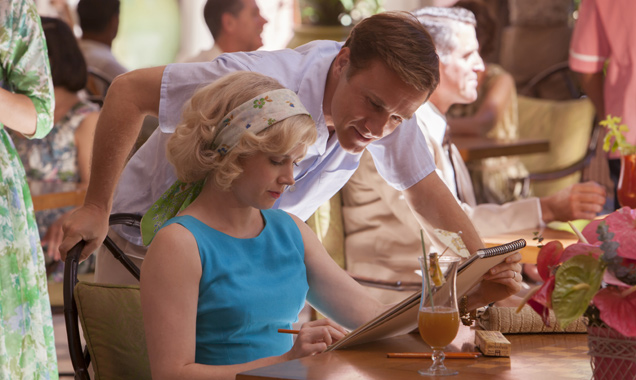 Amy Adams and Christoph Waltz in 'Big Eyes'