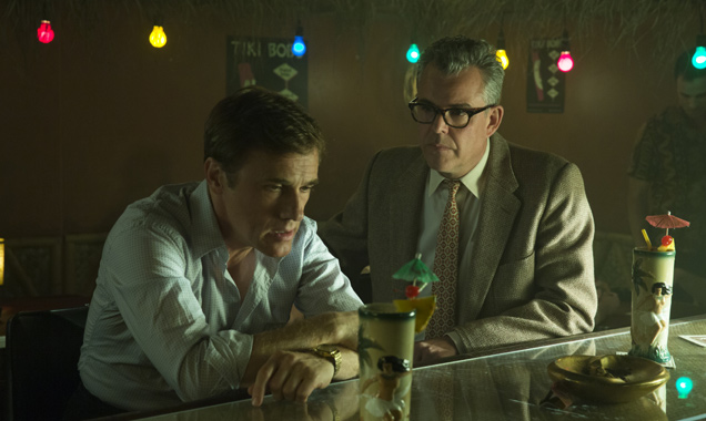 Christoph Waltz and Danny Huston in 'Big Eyes'