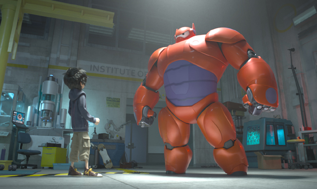 Hiro and Baymax were redesigned to be more 'Disney friendly'