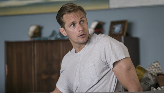 Alexander Skarsgard plays the abusive Perry in 'Big Little Lies'