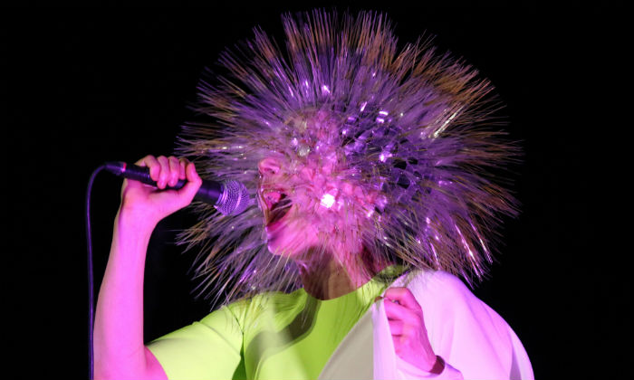 Bjork performing in New York in 2015 / Photo Credit: PBG/Empics Entertainment/PA Images