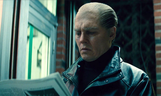 Johnny Depp as Whitey Bulger in 'Black Mass'