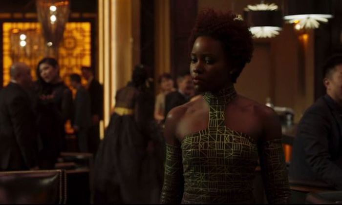 Lupita Nyong'o On How 'Black Panther' Avoids Stereotypical Female Rivalries