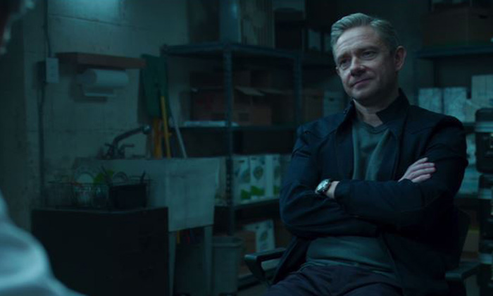 Martin Freeman stars as Everett K. Ross