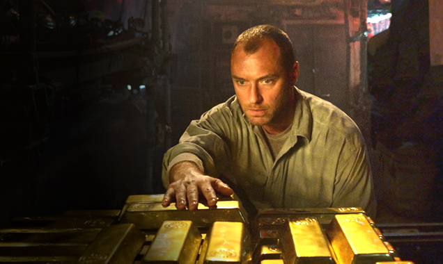 Jude Law uncovers secret Nazi gold