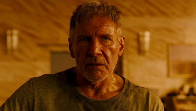 Harrison Ford returns for the new 'Blade Runner' film