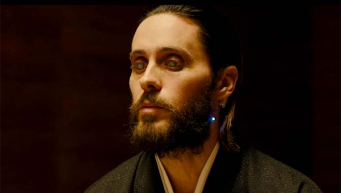 Jared Leto made his 'Blade Runner' debut earlier this year