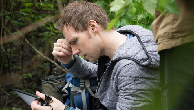 James Allen McCune stars in Blair Witch