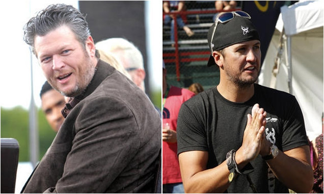 Blake Shelton & Luke Bryant AMC Awards