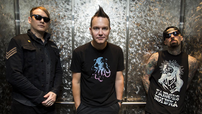 Blink-182 feature on the latest line-up announcement