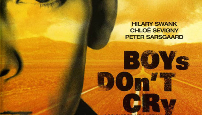 'Boys Don't Cry' featured Hilary Swank at the height of her career