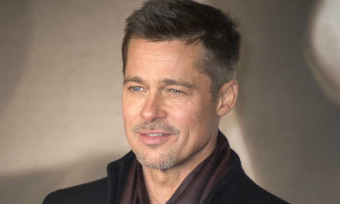 Brad Pitt at the UK 'Allied' premiere