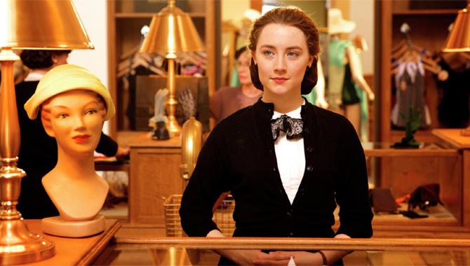 Saoirse Ronan plays Eilis in the film Brooklyn